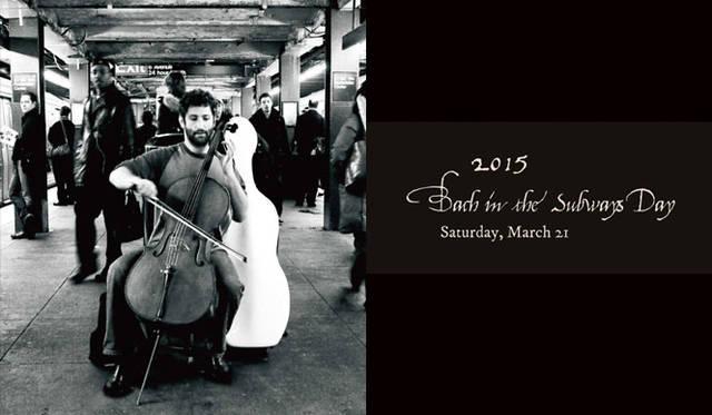 NYの地下鉄でバッハを奏でるデール・ヘンダーソン