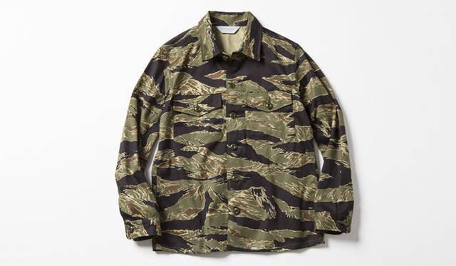 """MARKAWARE×AMERICAN RAG CIE"" ファティーグシャツ 3万3480円"