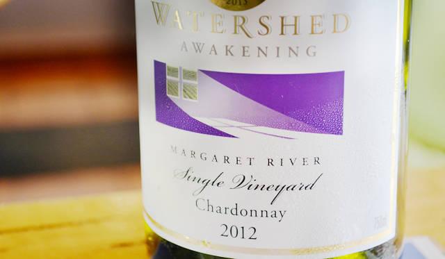 <br /> 取材時にリリースされたばかりのAwakeningの「シャルドネ2012」(A$44.95)。テイスティングはA$2
