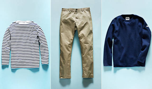 <strong>HELLY HANSEN|ヘリーハンセン</strong><br />「HELLY HANSEN ROYAL MARINE CLUB 2nd Release」<br>