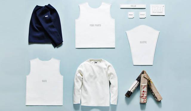 <strong>HELLY HANSEN|ヘリーハンセン</strong><br />「HELLY HANSEN ROYAL MARINE CLUB 2nd Release」<br>「R.M.C MILANORIB KNIT&SWEN」は、強度の強い綿糸を用いたセーター感覚のカットソーに仕上げている。3万240円