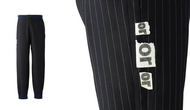 「UNITED ARROWS & SONS × TAKEO KIKUCH」リブパンツ3万1320円(ネイビー/M、L、XL)