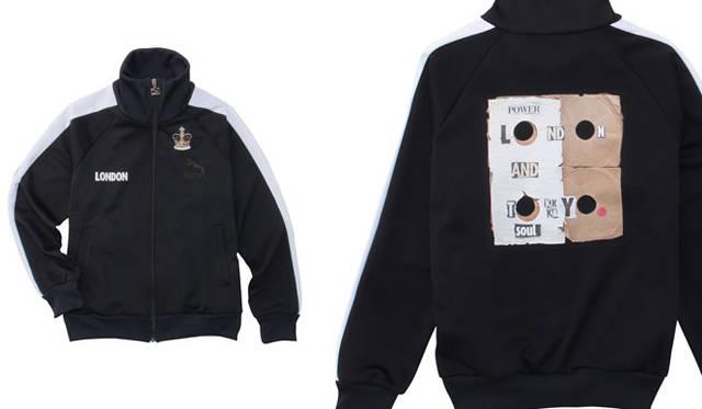 「UNITED ARROWS & SONS × TAKEO KIKUCH」<PUMA>別注ジャージー1万6200円(ブラック、ホワイト/M、L)