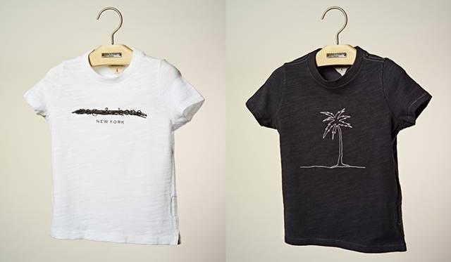 キッズTシャツ(4型3サイズ展開、サイズ目安3歳〜8歳)各7452円