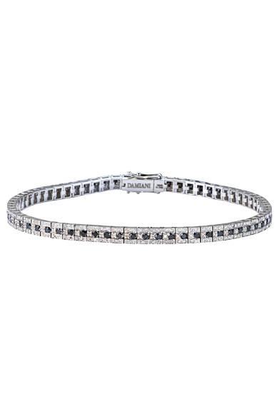 ブレスレッド<br> ダイヤモンド×ブラックダイヤモンド(メンズ向け)<br> 価格 129万6000円