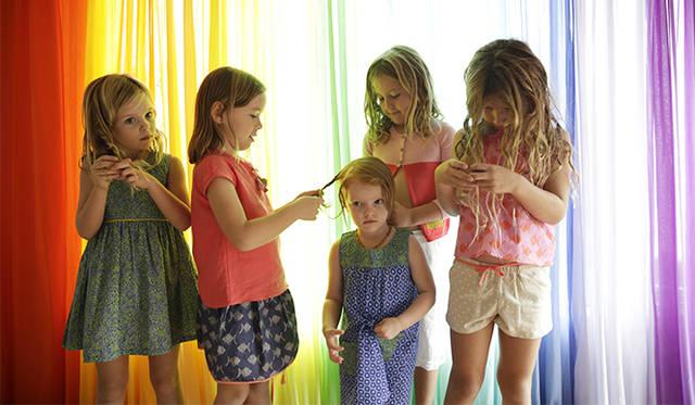 「キッズブランドをはじめようと思ったのは、子供たちに可能性に満ちたカラフルな世界を見せてあげたいと思ったから」とマルゲリータ。