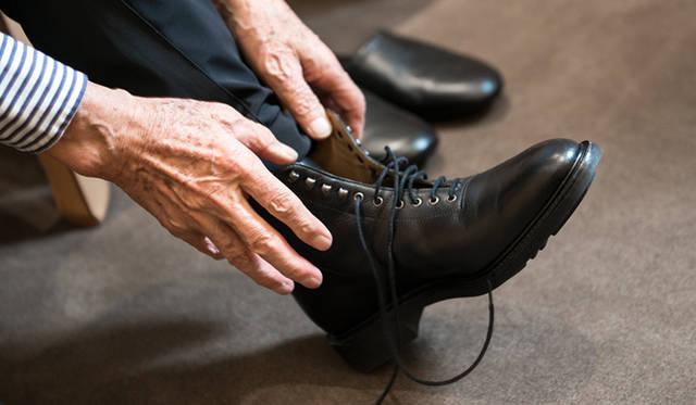 操上氏が愛用しているブーツ「Scott(スコット)」※現行モデルでは取り扱いなし