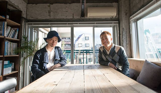 <strong>谷尻誠×川久保ジョイ対談</strong><br />「SUPPOSE DESIGN OFFICE」にて