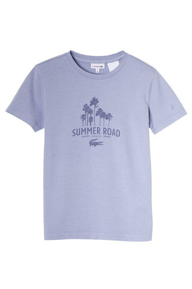 <strong>LACOSTE|ラコステ</strong><br />SPECIAL POP-UP 限定 BOYS グラフィックTシャツ 5400円(2A-12A)、5940円(14A-16A)