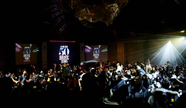 「アジアベストレストラン50」会場の様子