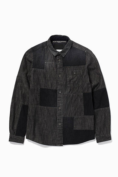Black Mountaineering by White Mountaineering<br />DENIM FRANKEN SHIRTS<br /> 価格|3万4560円