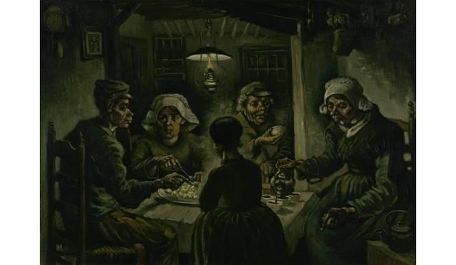 The Potato Eaters Nuenen, April - May 1885 Vincent van Gogh (1853 - 1890) oil on canvas, 82 cm x 114 cm Van Gogh Museum, Amsterdam (Vincent van Gogh Foundation)