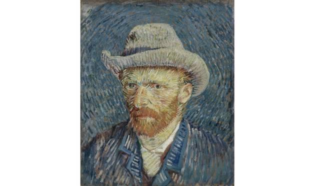 Self-Portrait with Grey Felt Hat Paris, September - October 1887 Vincent van Gogh (1853 - 1890) oil on canvas, 44.5 cm x 37.2 cm Van Gogh Museum, Amsterdam (Vincent van Gogh Foundation)