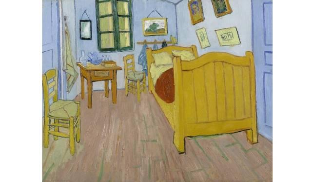 The Bedroom Arles, October 1888 Vincent van Gogh (1853 - 1890) oil on canvas, 72.4 cm x 91.3 cm Van Gogh Museum, Amsterdam (Vincent van Gogh Foundation)