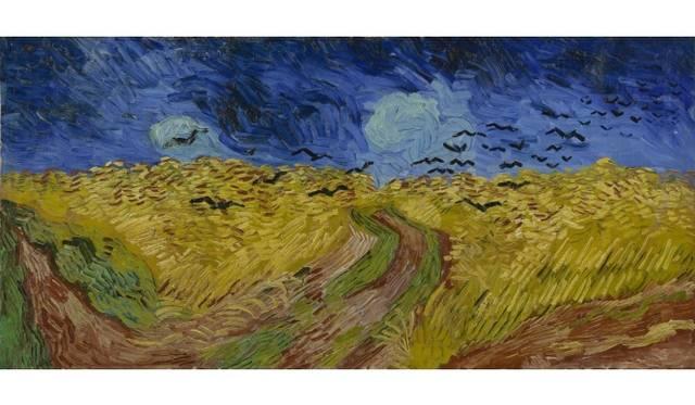 Wheatfield with Crows Auvers-sur-Oise, July 1890 Vincent van Gogh (1853 - 1890) oil on canvas, 50.5 cm x 103 cm Van Gogh Museum, Amsterdam (Vincent van Gogh Foundation)