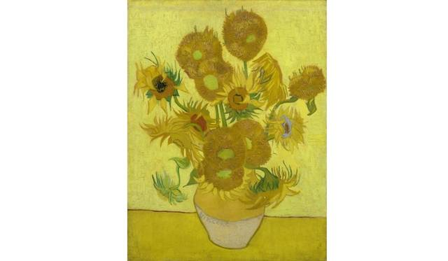 Sunflowers Arles, January 1889 Vincent van Gogh (1853 - 1890) oil on canvas, 95 cm x 73 cm Van Gogh Museum, Amsterdam (Vincent van Gogh Foundation)