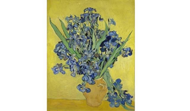 Irises Saint-Rémy-de-Provence, May 1890 Vincent van Gogh (1853 - 1890) oil on canvas, 92.7 cm x 73.9 cm Van Gogh Museum, Amsterdam (Vincent van Gogh Foundation)