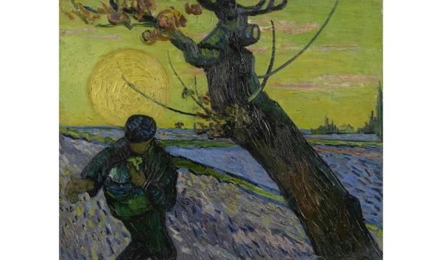 The Sower Arles, November 1888 Vincent van Gogh (1853 - 1890) oil on canvas, 32.5 cm x 40.3 cm Van Gogh Museum, Amsterdam (Vincent van Gogh Foundation)
