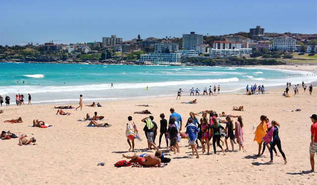 <br> 2000年のシドニーオリンピックではビーチバレー会場になったボンダイ