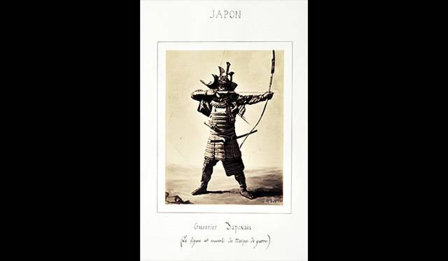 ギメ東洋美術館よりアポリネール・ル・バ 「日本の武者」、1864 © Guimet National Museum of Asian Arts