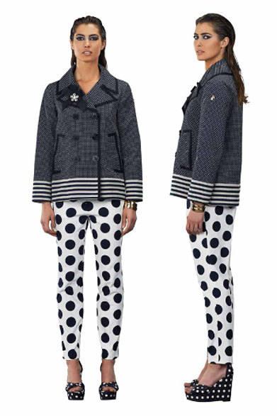 <strong>MARINA YACHTING|マリーナ ヨッティング</strong><br />2015春夏コレクション ジャケット8万5320円、パンツ参考商品