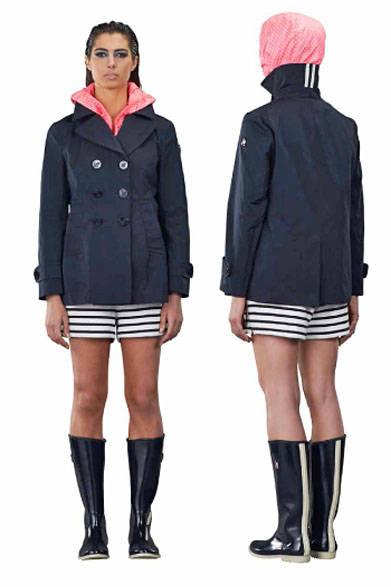 <strong>MARINA YACHTING|マリーナ ヨッティング</strong><br />2015春夏コレクション ジャケット7万4520円、パンツ参考商品