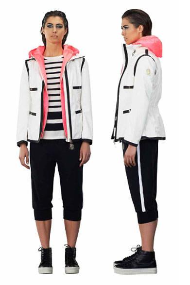 <strong>MARINA YACHTING|マリーナ ヨッティング</strong><br />2015春夏コレクション セーター2万8080円、ほかすべて参考商品