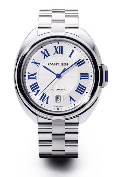 <strong>クレ ドゥ カルティエ 40 mm<br>WGブレスレット</strong><br>416万8800円<br><br>Eric Maillet © Cartier