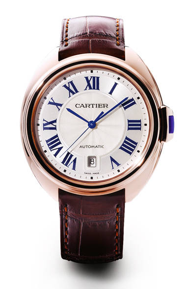 <strong>クレ ドゥ カルティエ 40 mm<br>PG レザーストラップ</strong><br>208万4400円<br><br>Eric Maillet © Cartier
