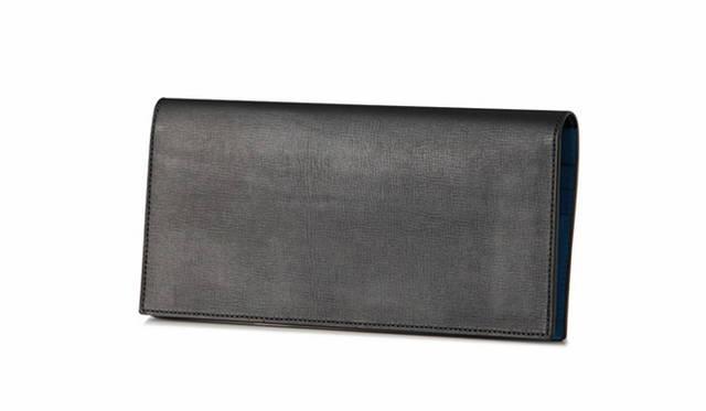 「SPERIO FIN CALF Limited color(ブラック×ブルー)」3万5640円