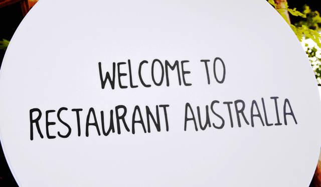 <br />会場でもRestaurant Australia(レストラン・オーストラリア)をハッシュタグのキーワードに、SNSで情報発信された