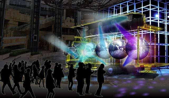 『アートトラックプロジェクト ハル号 アケボノ号 』「アケボノ号」イメージ