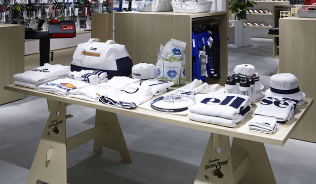 <strong>ellesse|エレッセ</strong><br />「ellesse tennis club with windsor racket shop(エレッセテニスクラブ ウィズ ウインザーラケットショップ)」