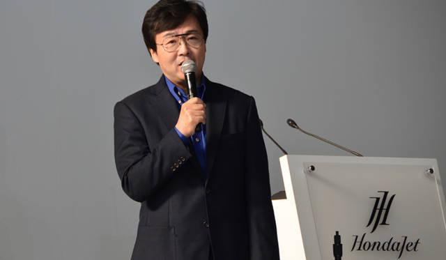 ホンダ エアクラフト カンパニー社長の藤野道格氏