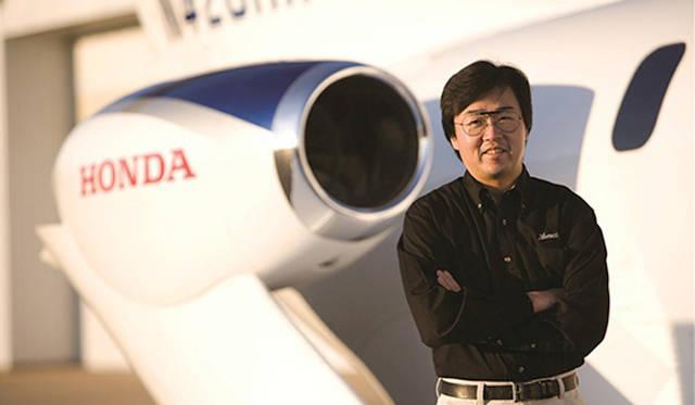 藤野氏はホンダジェットの革新的な設計でエアクラフト・デザイン・アワード、ケリー・ジョンソン賞などを受賞した