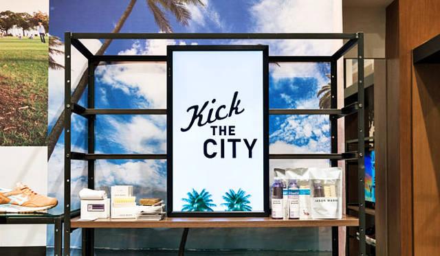 <strong>ISETAN MEN'S|イセタンメンズ</strong><br />「KICK THE CITY」第2弾では、スニーカーの本場アメリカで高品質なシューケアグッズを開発しつづける「JASON MARKK(ジェイソン マーク)」も販売