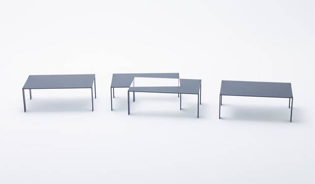 <strong>nendo|ネンド</strong><br />「nendo works 2014-2015」 pair / for Glas Italia