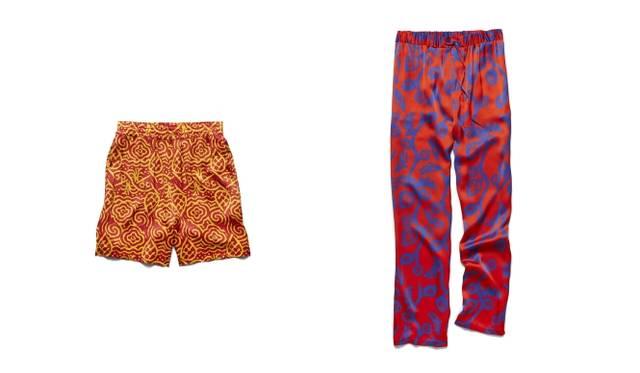 (左より)Pajama pants 5万4000円、Pajama pants 8万1000円