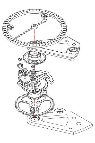 <strong>コンスタントフォース トゥールビヨン</strong> <br /><br /> ケース|18Kレッドゴールド(5N)<br />  直径|46mm<br />  厚さ|12.25mm<br />  ムーブメント|手巻き(Cal.A&S 5119)<br />  機能|コンスタントフォース機構、トゥールビヨン<br />  ストラップ|アリゲーター<br />  防水|3気圧<br />  発売時期|7月予定<br />  予価|2266万9200円<br />