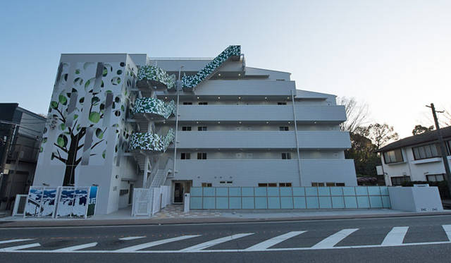 <strong>Daiwa House|大和ハウス工業</strong><br />川崎市高津区に完成したユニークな集合住宅(賃貸マンション)「LIFE(ライフ)」