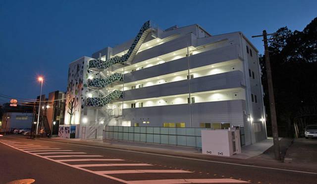 <strong>Daiwa House|大和ハウス工業</strong><br />集合住宅(賃貸マンション)「LIFE(ライフ)」は神奈川県川崎市高津区新作1丁目にある