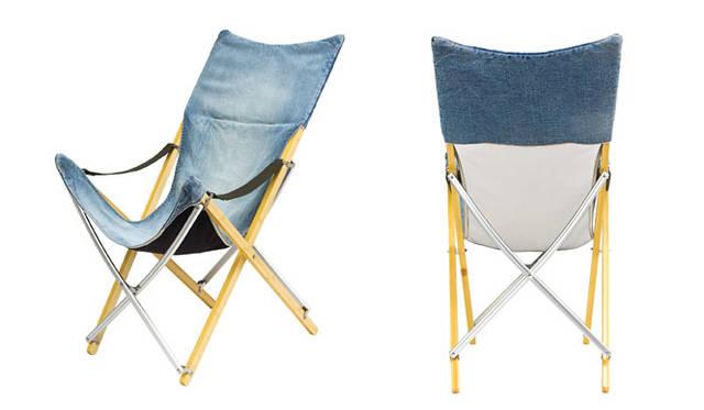 <strong>journal standard Furniture|ジャーナル スタンダード ファニチャー</strong><br />snow peak × journal standard Furniture<br/>「TAKE!チェア ロング」3万24円(7月中旬よりデリバリー開始)