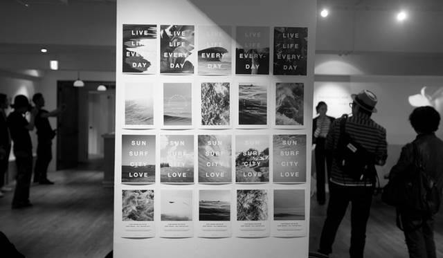 """4月中旬におこなわれたLOVE Design Initiative Australia(LVDI)のエキシビション『""""FOCUS""""東京エキシビション 2015』の様子<br/> Photograph by Gianluca Wright"""
