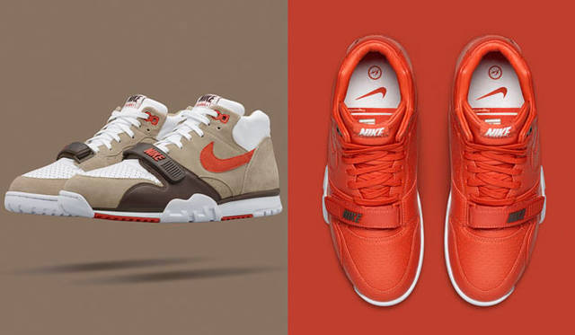 <strong>NikeLab|ナイキラボ</strong><br />「NIKECOURT AIR TRAINER 1 MID × FRAGMENT」1万7280円