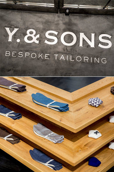 <strong>Y. & SONS|ワイ&サンズ</strong>