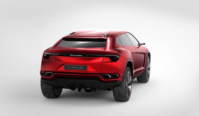 2012年の北京モーターショーで公開されたコンセプトカー「ウルス」
