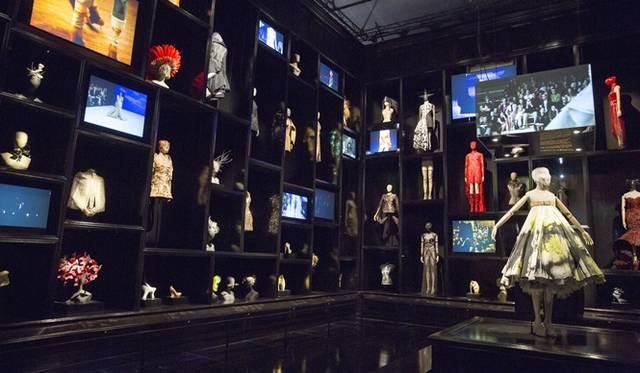 "Installation view of ""Cabinet of Curiosities"" gallery, 2015 Victoria and Albert Museum, London"