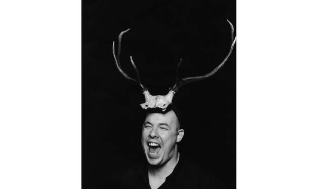 Portrait of Alexander McQueen  Artist: Photographed by Marc Hom  Date: 1997  Credit line: © Marc Hom / Trunk Archive