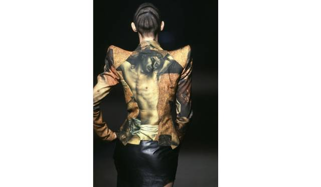 Jacket  Artist: Alexander McQueen  Date: It's a Jungle out there, A/W 1997-8  Credit line: Image: firstVIEW  Special terms: None
