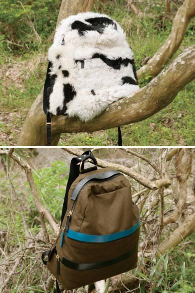 「マルニ」らしい毛足の長いムートンを使ったバックパックは、そのキャッチーな存在感がポイント。カジュアルなスタイリングに取り入れて普段遣いを楽しんで。同じデザインながらミニマルなイメージのバッグは、ウール×リネンの素材感が軽やかさを強調。 <br><br>  上:バッグ[W50×H37×D18cm]35万9640円、下:バッグ[W45×H37×D17cm]17万9280円 ※いずれも7月下旬入荷予定/マルニ<上:阪急メンズ大阪2階『ガラージュ D.エディット』、阪急メンズ東京4階、下:阪急メンズ大阪2階『ガラージュ D.エディット』、阪急メンズ東京2階、4階> <br><br>  <strong>「マルニ」2015年秋冬コレクション受注会</strong> <br><br> 受注会期間中は、サンプルが用意されており、注文品は、11月〜12月に入荷次第納品となる。バッグ(写真上)は、サイズやカラーのオーダーもできる。■6月18日(木)〜22日(月)阪急メンズ東京2階、4階■7月2日(木)〜6日(月)阪急メンズ大阪2階『ガラージュ D.エディット』